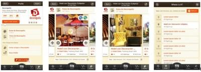 Aplicación Iphone Decorapolis