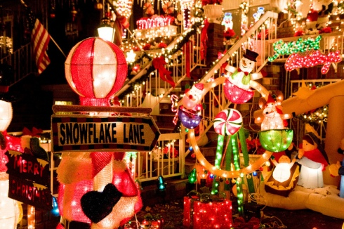 Luces de Navidad de Dyker Heights en Brooklyn