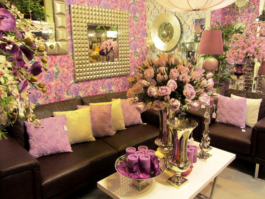 belda expuso nuevas tendencias de decoracin jugando con las flores y colores