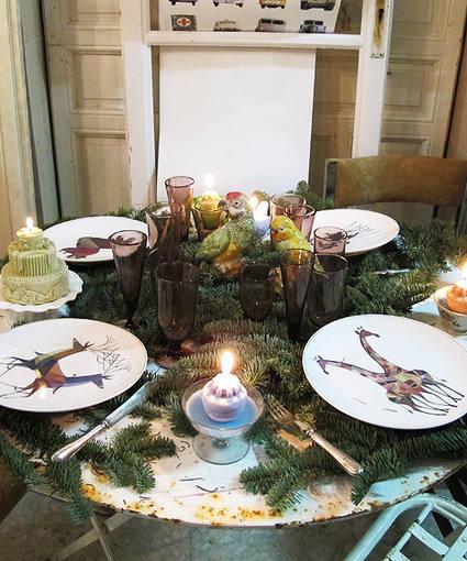 Como decorar copas decorar tu casa es - Vajillas navidenas ...