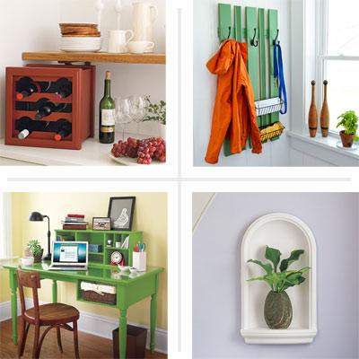 7 maneras f ciles de agregar almacenamiento a cada - Todo para decorar tu casa ...