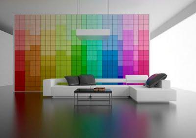 gotas del color de la pintura de la pared a la pintura blanca del techo esto tie el blanco lo suficiente para hacer una buena transicin de colores