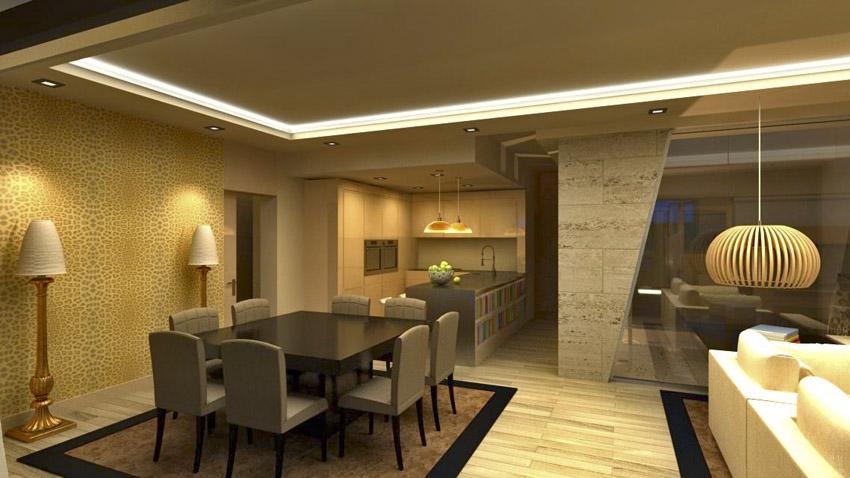 C mo elegir la iluminaci n adecuada para tu casa nevaluz blog - Casas de iluminacion ...