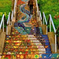 Las pinturas murales sobre escaleras más fascinantes del mundo