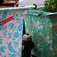 ¿Has visto alguna vez contenedores de basura envueltos en papel decorativo?