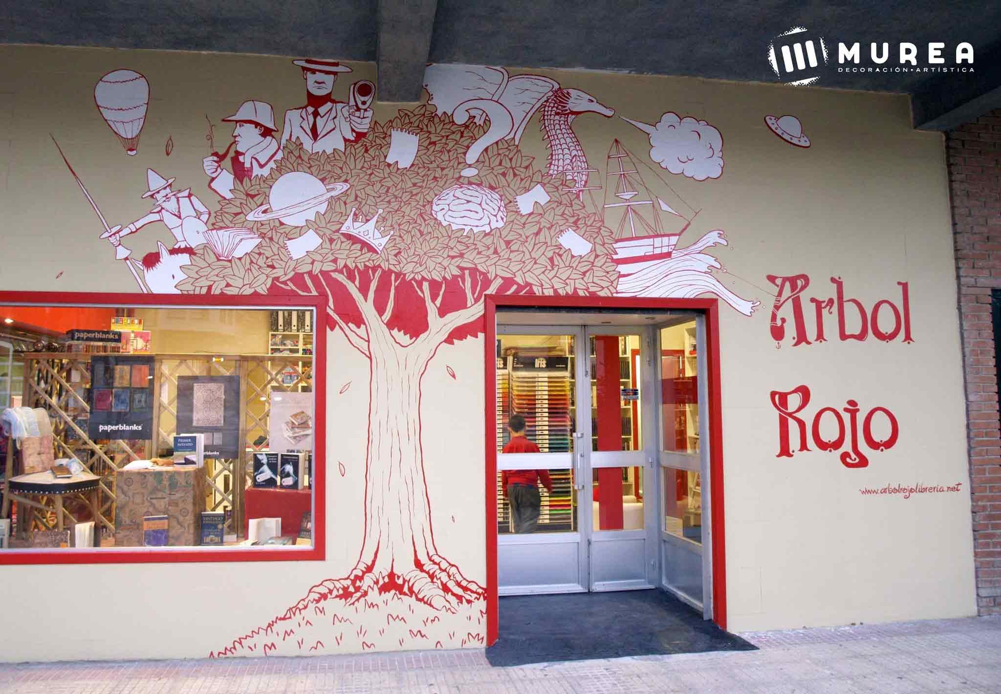 Negocios con fachadas creativas y atrayentes decoraci n - Decoracion navidena para comercios ...